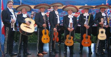 Mariachi Bands and Mexican Bands